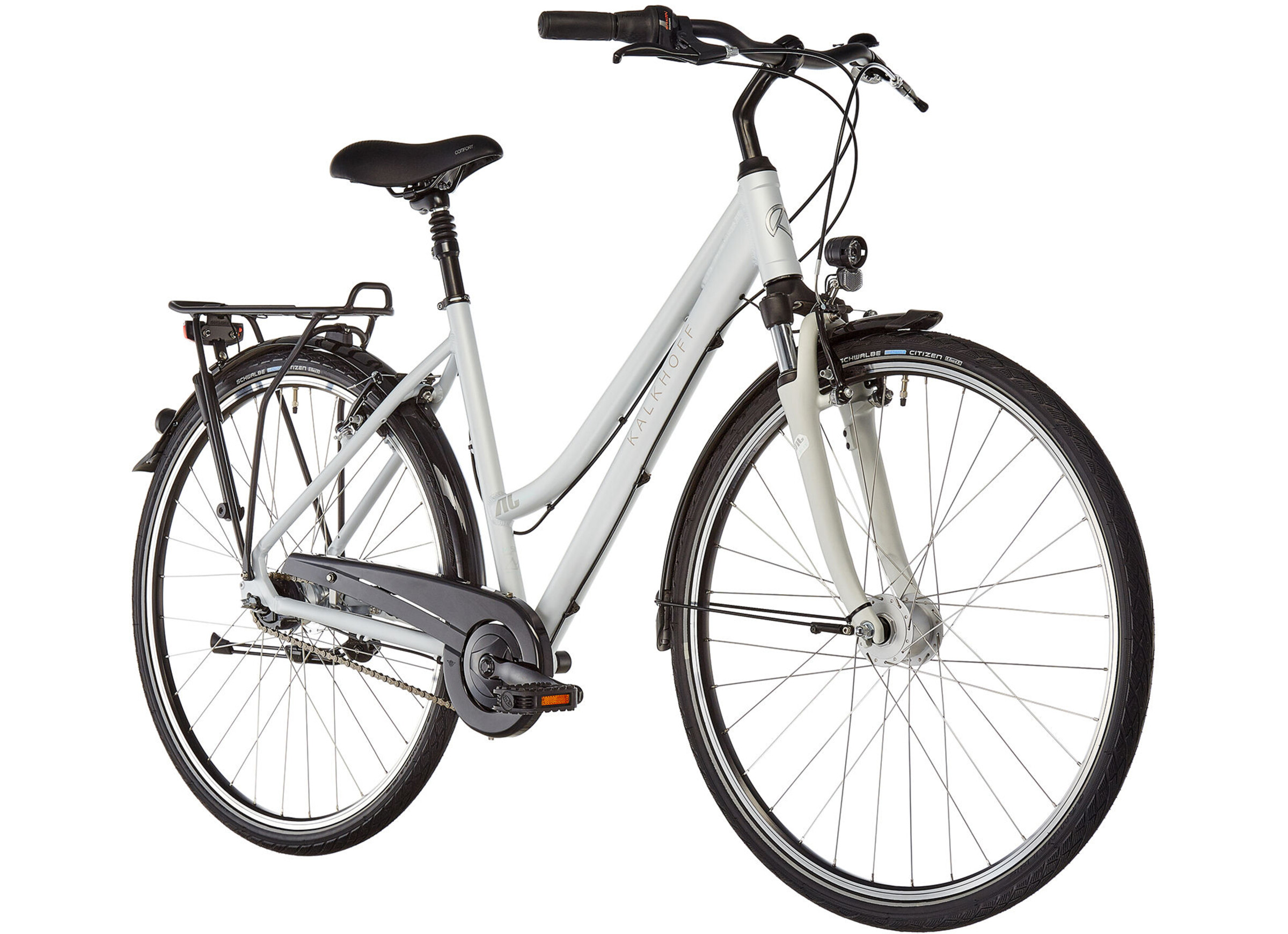 Kalkhoff Jubilee 7 Trapez palermo silver matt online kaufen   fahrrad.de